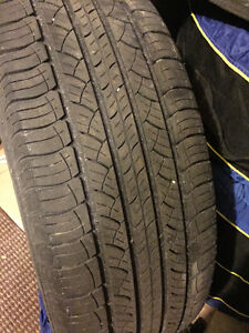 Michelin Lattitude Tires 245 50 20 set of 4 NO RIMS
