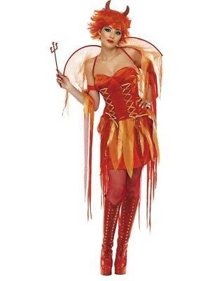 Naughty Devil Sexy Teufelin Kostüm Damen Größe S Teuflisch Karneval Teufel - Sexy Teuflische Teufel Kostüm