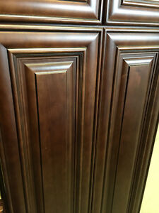 "NEW!!   30"" BRISTOL CHOCOLATE KITCHEN CABINETS - ALL WOOD"