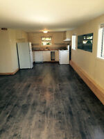 Short term, N/S Furnished $775.per/month, hydro/ wifi included