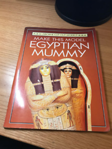 Egyptian Mummy Cut-out Model Book