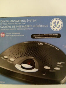Digital Answering System G.E. (NEW) *French & ENGLISH