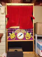 Melissa and Doug Puppet Theatre and Puppets