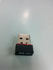 Mini 150Mbps 150M USB WiFi Wireless Adapter Network LAN Card