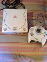 Dreamcast console with controller for sale