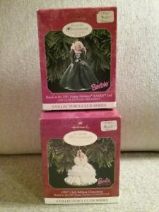 Barbie Club Christmas Ornaments