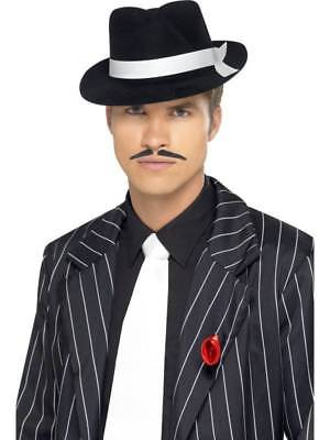 Gangsters Krawatte 1920er Jahre Kostüm Zubehör Herren Weiß -