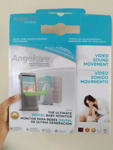 Angelcare video sound movement ultimate digital baby monitor