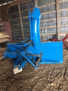 8 foot double auger lucknow snow blower