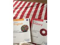 HOW TO PASS- National 5 History&English revision books