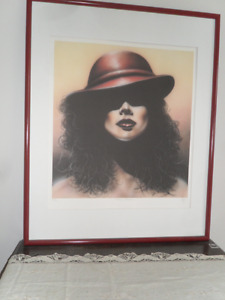 "Large Limited Edition Print,""Cosmo Woman"""