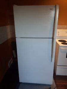 Fridge and under counter microwave