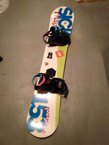 Snowboard, bindings & boots for sale