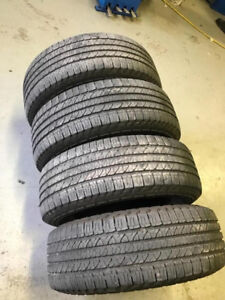 Goodyear Fortera all seaosn tires set of 4