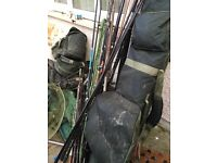 Job lot carp fishing gear