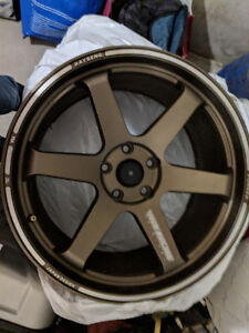 Volk Racing Original: Forged Rims (Only 3 of them)