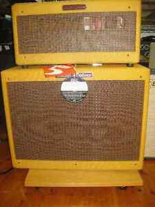 Fender Tweed  57 Deluxe  Re Issue Hand wired head, and cab. Kingston Kingston Area image 2