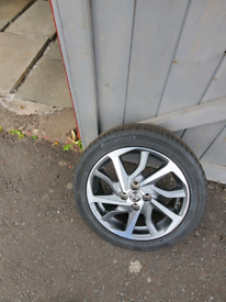 Spare wheel with tyre
