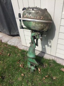 Vintage Johnson outboard