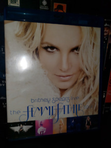 Britney Spears: The Femme Fatale Tour Blu-ray DVD Show Live