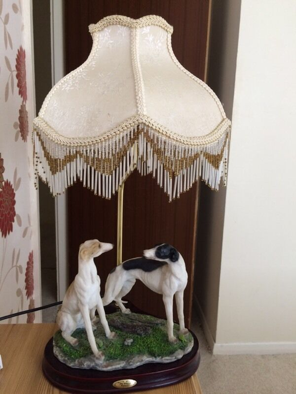 The Juliana Collection Vintage Greyhound Table Lamp In