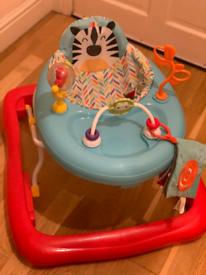 Baby walker foldable