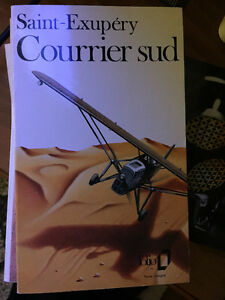 ''Courrier Sud'' de Saint-Exupery, folio.