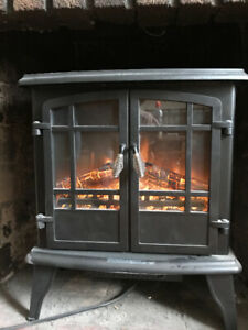 Moving!  Electric Fireplace/Heater