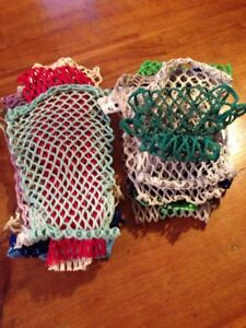 Assorted Lacrosse Mesh