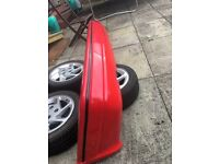 Ford escort xr3i mk4 rear bumper
