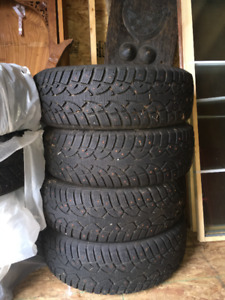Studded Winter Tires 215/70 R15