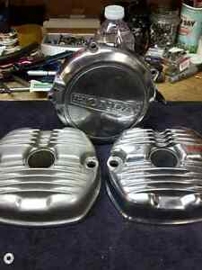 CX 500 Polished Valve and Clutch Covers!