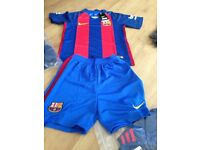 Footy tops and kits