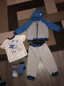 Gymboree and Crazy 8 boys sz 18-24 month outfits