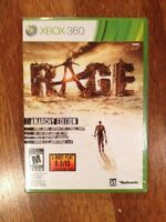 Brand new sealed Rage game for xbox