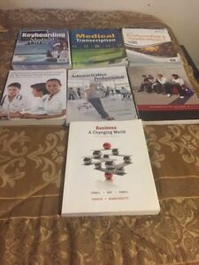 Fanshawe Medical office Assistant textbooks London Ontario image 1