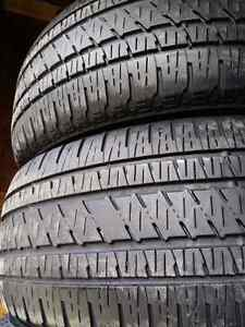 275/55/r20 BRIDGESTONE DUELLER ALL SEASON TIRES