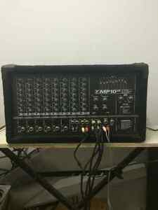 yorkville amp mixer mp 10 ds powered