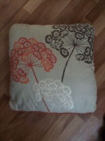 2 next cushions for sale