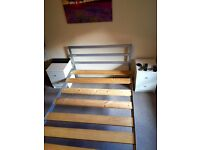 Double bed - metal frame