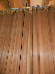NEW Beautiful Natural Bamboo 2Curtains+2Valances+2 Roll Shades