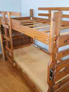 New price Solid wood bunk bed