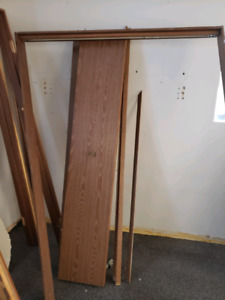 Closet and interior doors with frames