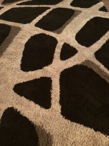 Black and grey carpet