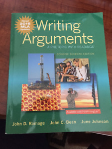 Writing Arguments Concise Seventh Edition