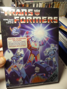 Transformers Season 3&4- Anime Box Set - For Sale