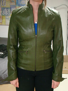 LILIAN ITALIAN LAMB LEATHER JACKET