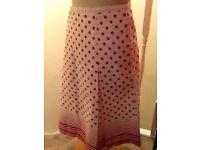 Oasis 100% cotton skirt size 12