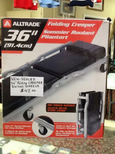 alltrade 36 folding creeper,new in box