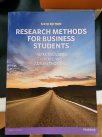 Research Methods for Businesses Students